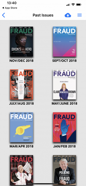 fraud magazine con twixl