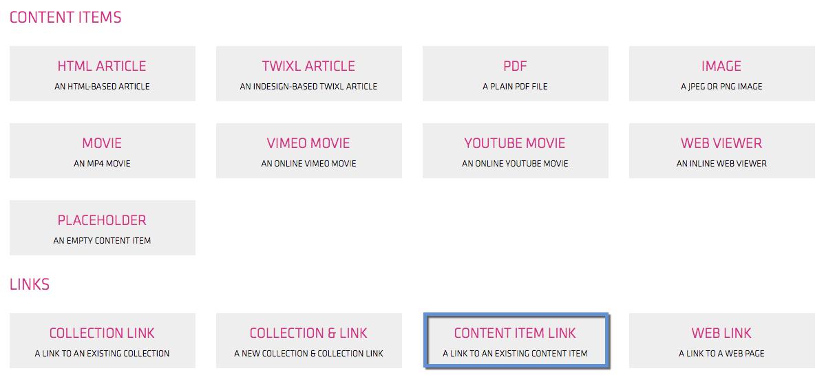 content item link